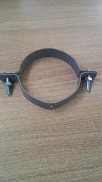 Скоба за водосточна тръба Ф 100 без шип