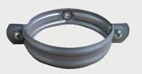 Скоба за водосточна тръба Ф 100 RAL 9006 /лукс/