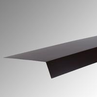 Надолучна пола 2 м. 25 см. пластифицирана RAL 8017