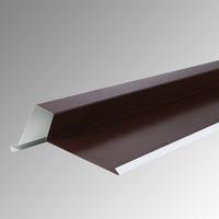 Обшивка челна дъска с лента 2 м. 330 пластифицирана RAL 8017