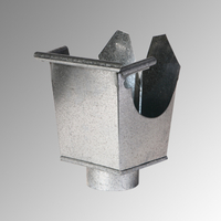 Казанче квадратно 330 мм. / Ф 120, 0,5 мм.