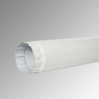 Водосточна тръба Ф 100 пластифицирана 9002 2 м.