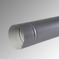 Водосточна тръба Ф 100 пластифицирана 9006 2 м.