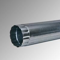 Водосточна тръба Ф 100 поцинкована 6м., 0,4 мм.