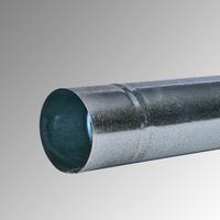 Водосточна тръба Ф 80 поцинкована 1м., 0,4 мм.