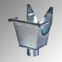 Казанче квадратно 330 мм. / Ф 80, 0,5 мм.