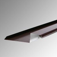 Обшивка калкан 2м. 330 мм. пластифицирана RAL 8017