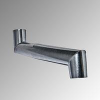 Кривка двойна Ф 80, 0,4 мм.