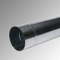 Водосточна тръба Ф 120 поцинкована 1м., 0,5 мм.