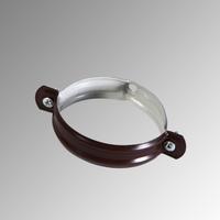 Скоба за водосточна тръба Ф 100 RAL 8017 /лукс/